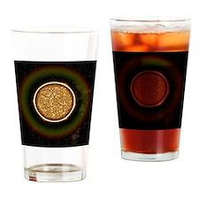 Solar granulation Drinking Glass