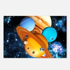 Solar system planets Postcards (Package of 8)