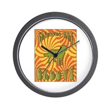 Groovy Chinooks Wall Clock