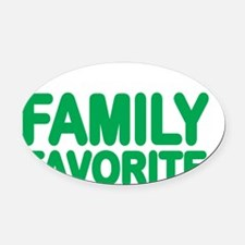 current family favorite Oval Car Magnet
