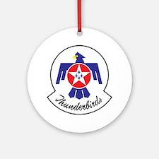U.S. Air Force Thunderbirds Round Ornament