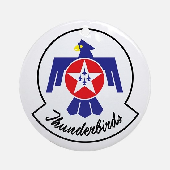 U.S. Air Force Thunderbirds Round Ornament