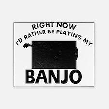 Banjo silhouette designs Picture Frame