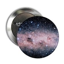 """Starfield centred on the Southern Cro 2.25"""" Button"""