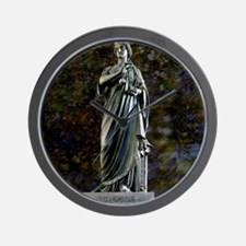 Statue of Science Wall Clock