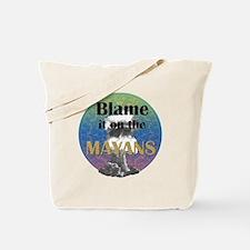 Mayan Armageddon Tote Bag