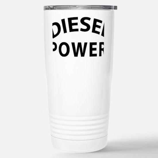 Diesel Power Stainless Steel Travel Mug