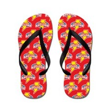 Captain Awesome Flip Flops