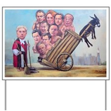 Framed Print: Leveson Inquiry Yard Sign