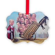 Framed Print: Leveson Inquiry Ornament
