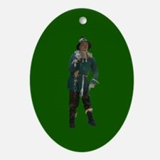 Scarecrow Ornament (Oval)