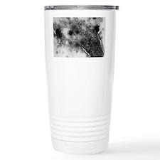TEM of bacterial lysis  Travel Mug