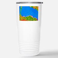 TEM of human white bloo Travel Mug