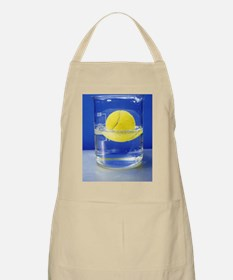 Tennis ball floating in water Apron