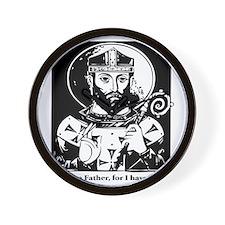 St. Arnulf the patron saint of beer Wall Clock