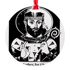 St. Arnulf the patron saint of beer Ornament