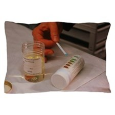 Test for urine glucose level Pillow Case