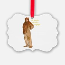 Lion Holiday Ornament