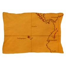 The Galapagos Islands seen on one of D Pillow Case
