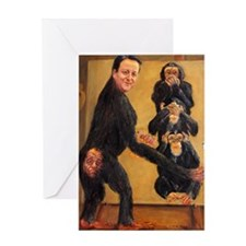 Leveson Inquiry: Omerta Greeting Card