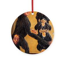 Leveson Inquiry: Omerta Round Ornament