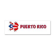Puerto Rico - PR - Coqui Car Magnet 10 x 3