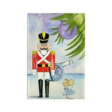 Nutcracker-Dancing Ratskii Christ Rectangle Magnet