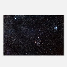 Taurus constellation Postcards (Package of 8)