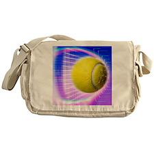 Tennis ball Messenger Bag