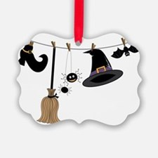 Witch Clothing Ornament