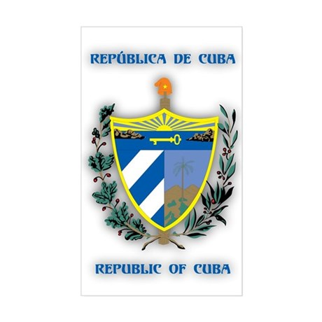 Cuba Products v2 Rectangle Sticker