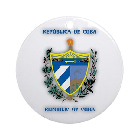 Cuba Products v2 Ornament (Round)