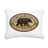 Lake tahoe Rectangle Canvas Pillows