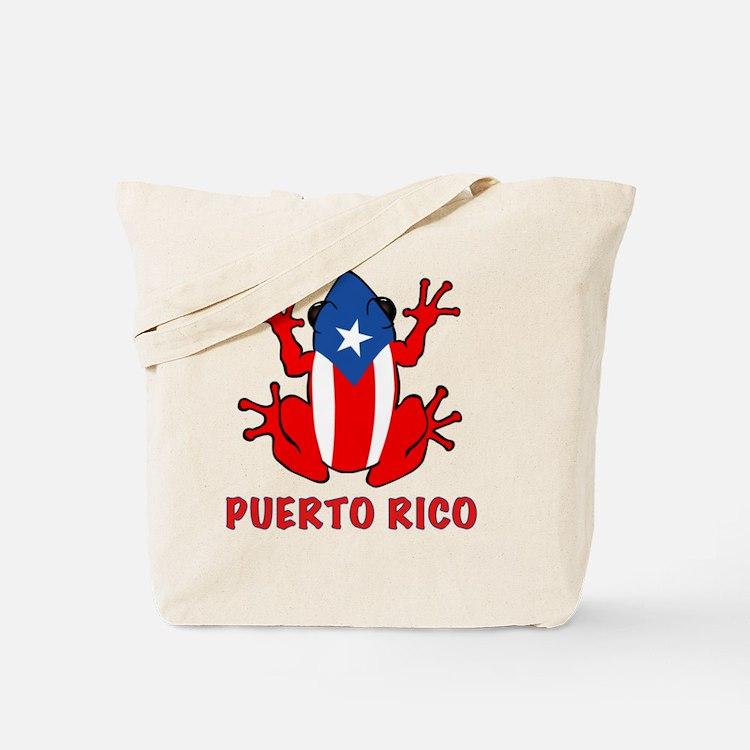 Puerto Rico - PR - Coqui Tote Bag