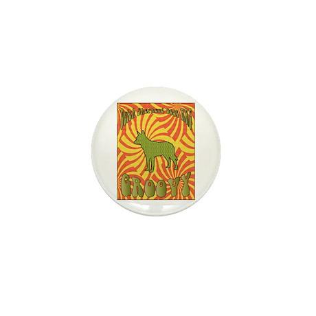 Groovy Shepherd Mini Button (10 pack)