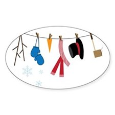 Snowman Clothing Decal