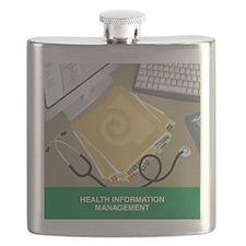 Tile Coaster Flask