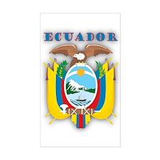 Ecuador Products v1 Rectangle Decal