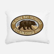 Glacier Bay Brown Bear B Rectangular Canvas Pillow