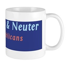 Spay Neuter your Republicans :FenderFla Mug