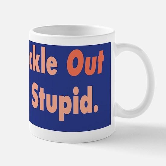 Trickle Out Economy Stupid :FenderFlash Mug