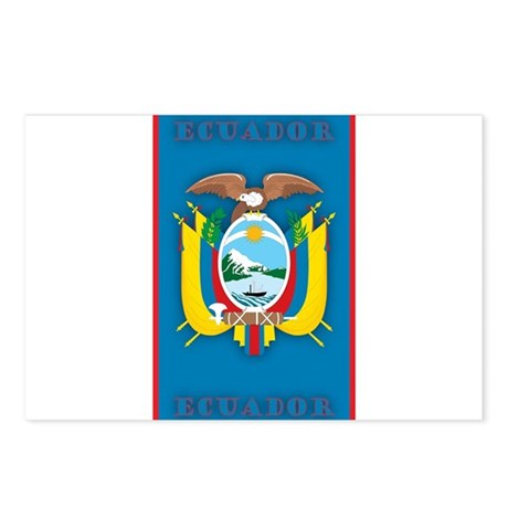 Ecuador Products v2 Postcards (Package of 8)