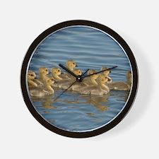 MP_Geese_3 Wall Clock