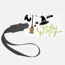 Witchy Luggage Tag