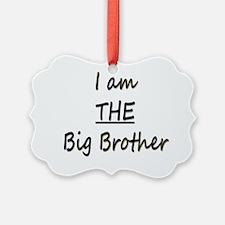I am THE Big Brother Ornament