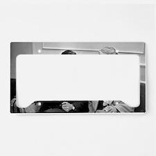Titov and Keldysh, Soviet spa License Plate Holder