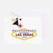 Save the Date for Las Vegas Greeting Card
