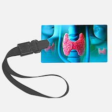 Thyroid gland Luggage Tag