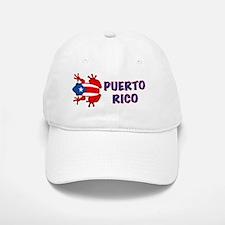 Puerto Rico - PR - Coqui Baseball Baseball Cap