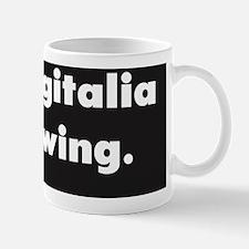 Your Digitalia is Showing :FenderFlash Mug